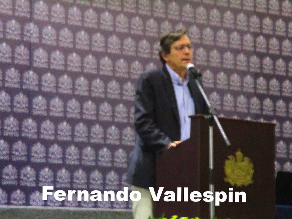 Fernando Vallespin en la Conferencia del ACCPOL 2016