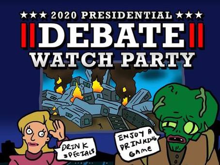 Organizando Fiestas para ver el Debate Presidencial: Divertida Forma de Recolectar Fondos de Campaña