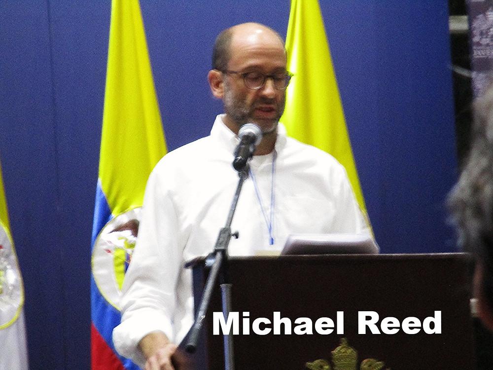 Michael Reed en la conferencia del ACCPOL 2016