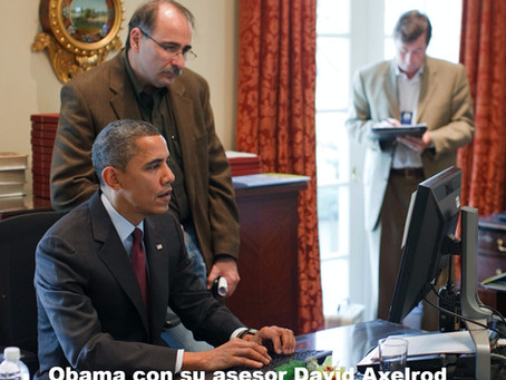 Anécdotas y Consejos en Marketing Político del Asesor de Obama, David Axelrod.
