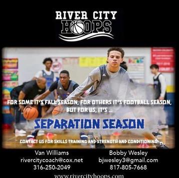 River City Hoops Social Media Graphic