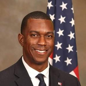 City Councilman Brandon Johnson