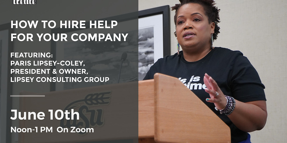 How to Hire Help for your Company