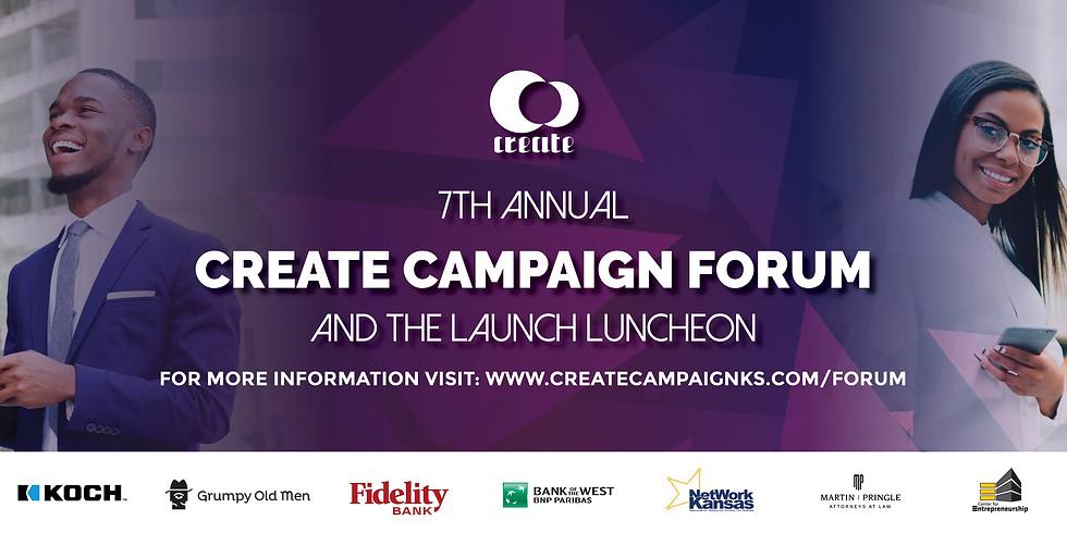 Create Campaign Forum