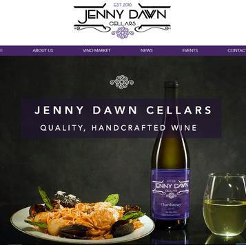 Jenny Dawn Cellars website