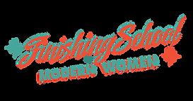 Finishing School Logo gives clear backgr