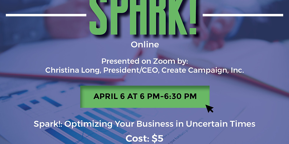 Spark! Optimizing Your Business in Uncertain Times