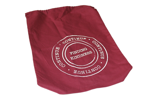 Maroon Draw String Bag