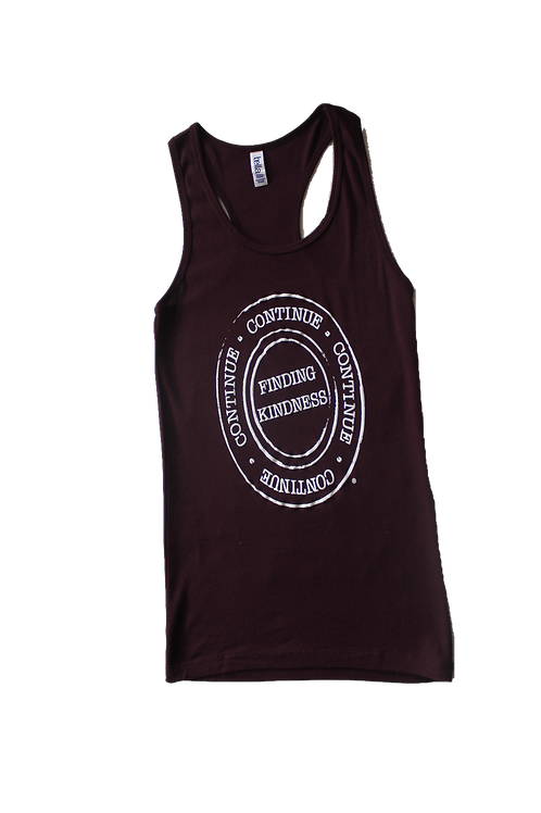 Fitted Maroon Tank