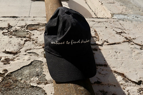 Continue To Find Kindness Black Baseball Cap