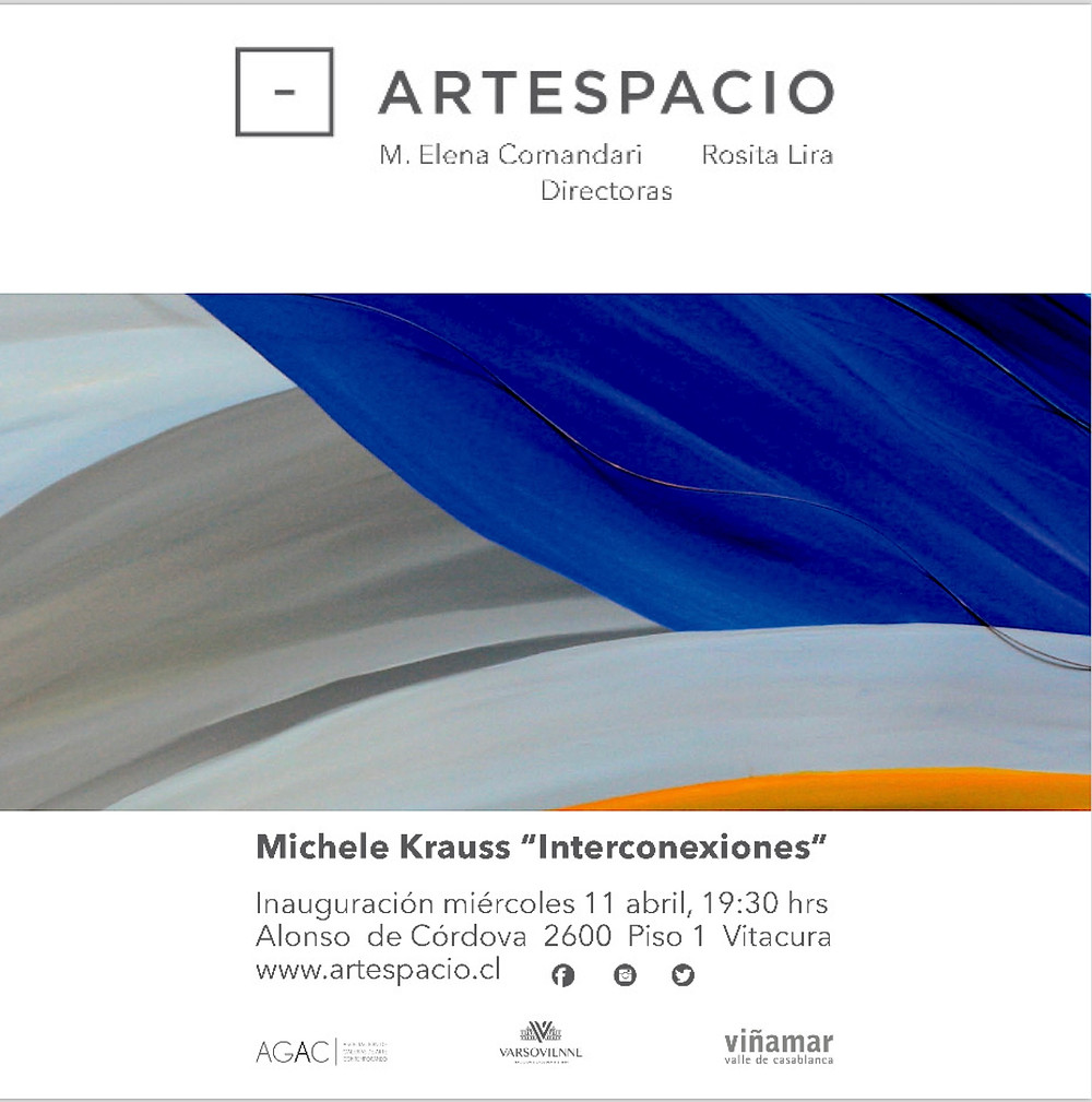 Solo Show at Galeria Artespacio Wednesday April 12th 2018.