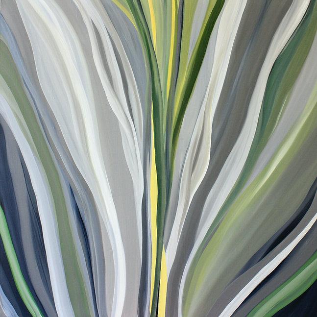 Michele Krauss, From my Core 40%22x40%22