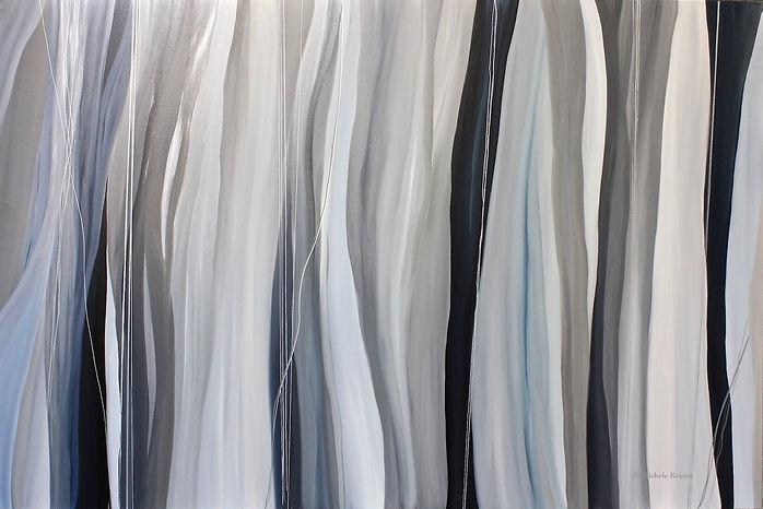 """Brain Waves- , Oil on Linen 48""""x 72"""".JPG"""