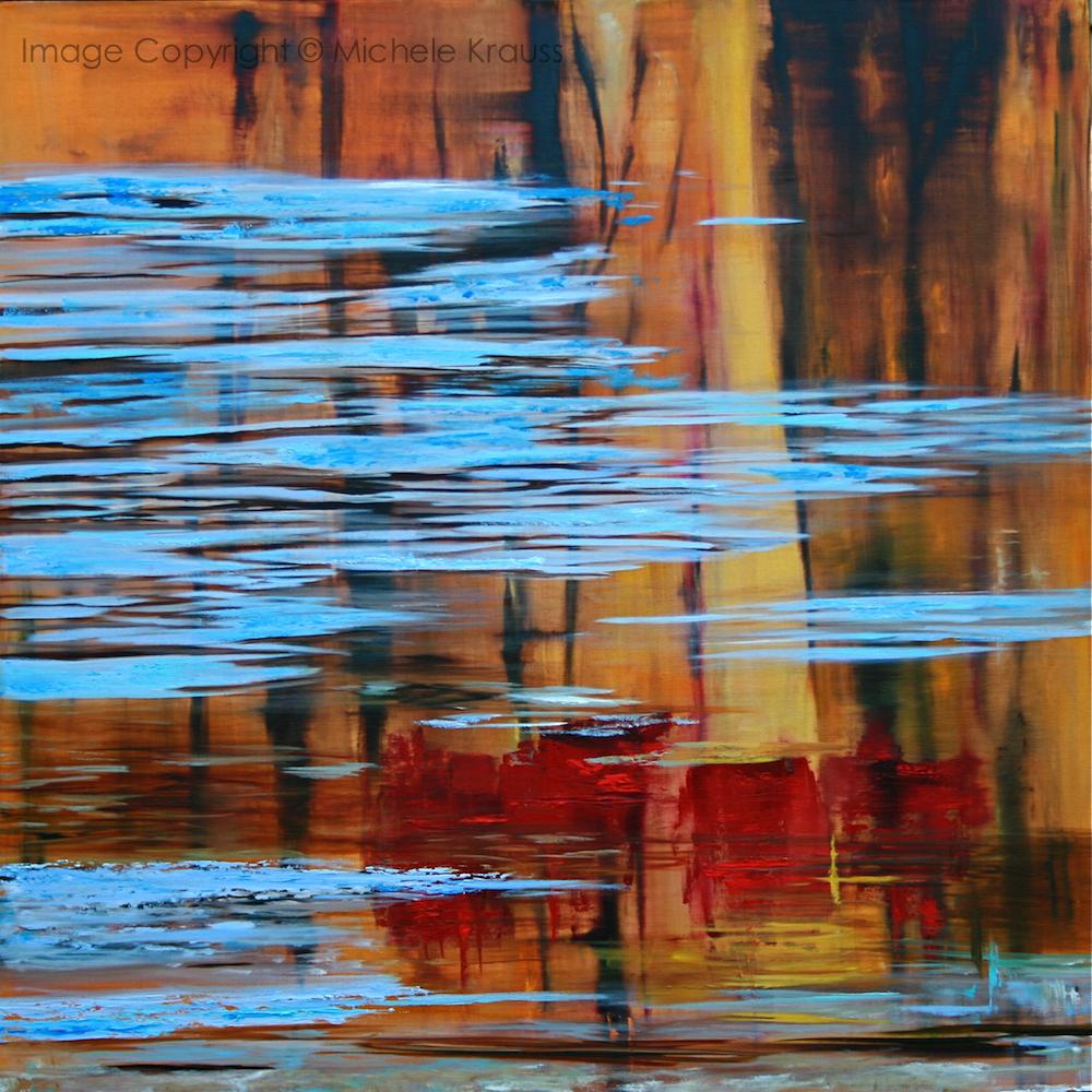Juxtaposed Autumn Reflections