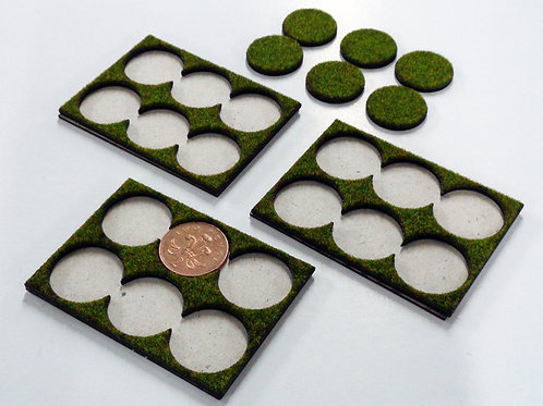 6 Models on 25mm or 2p Bases