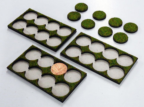8 Models on 20mm or 1p Bases