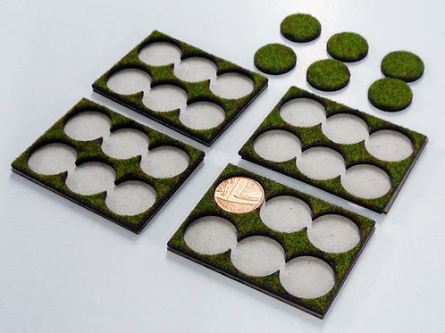 6 Models on 20mm or 1p Bases