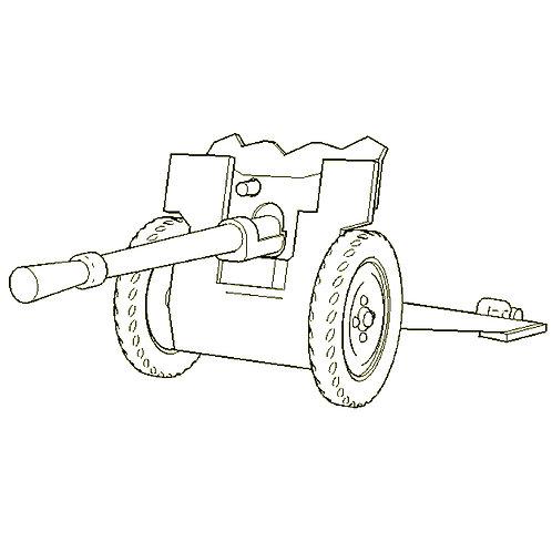 25mm SA mle 34 anti-tank gun