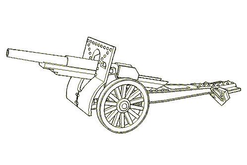 120 mm wz.1878/09/31 field gun