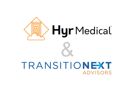 Hyr Medical Forms Strategic Alliance with Advisors from TransitioNext