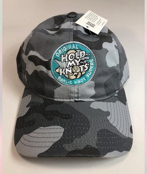 Blue Camo Logo Hat