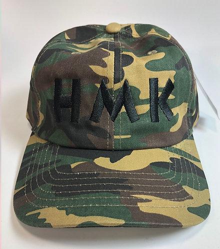 """Green Camo """"HMK"""" Logo"""