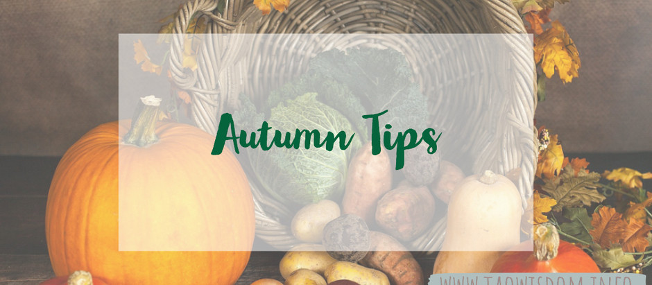Boosting your energy in autumn