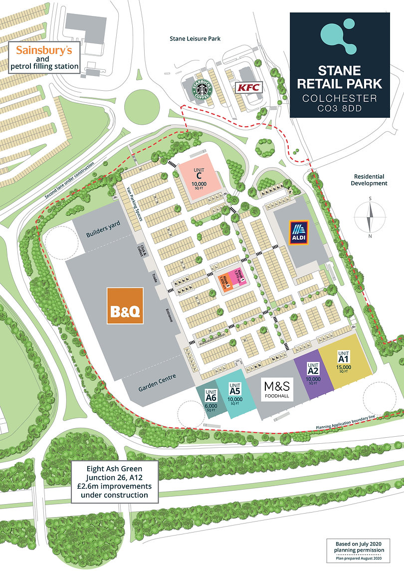 10505 Stane Retail Park New Plan v5 A4-1