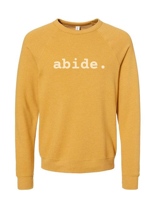 2022 Retreat Abide Yellow Sweatshirt