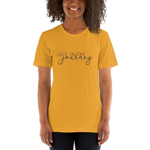 Bella Canvas Short-Sleeve Unisex Black Logo T-Shirt