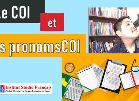 El COI y los pronombres COI en francés