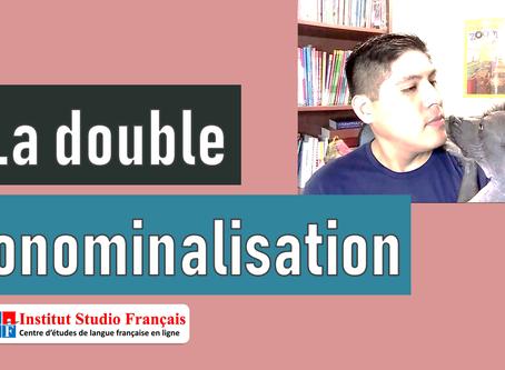 La doble pronominalisación en francés