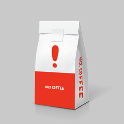 003-白色咖啡紙袋-3