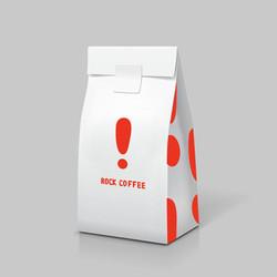 003-白色咖啡紙袋-1