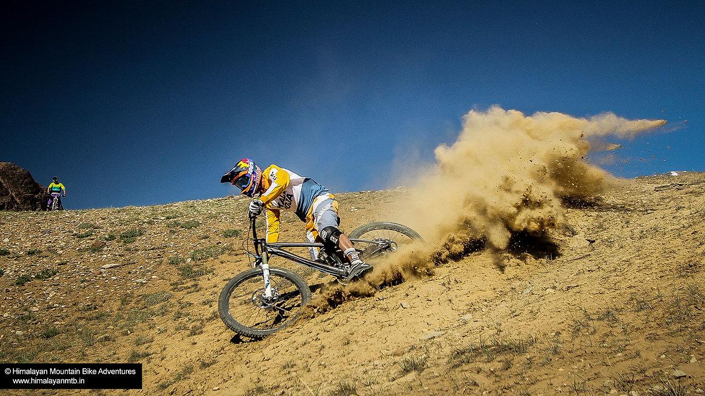 Singletrack mountain biking India - Hima
