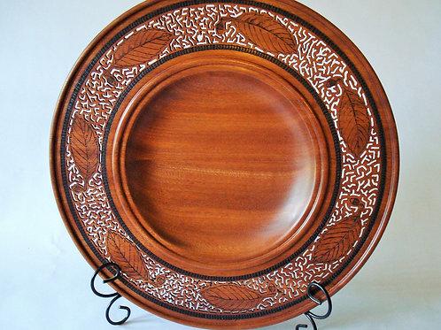 Sapele Platter