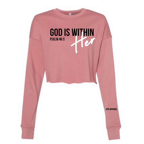 Psalm 46:5-Cropped Sweater Collection