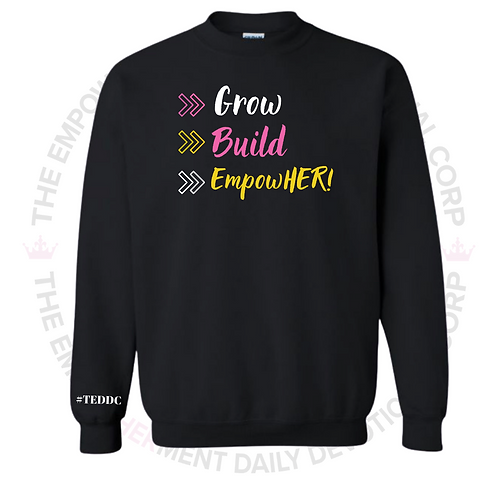 YOUTH-EmpowHERettes Membership Sweater (Black)