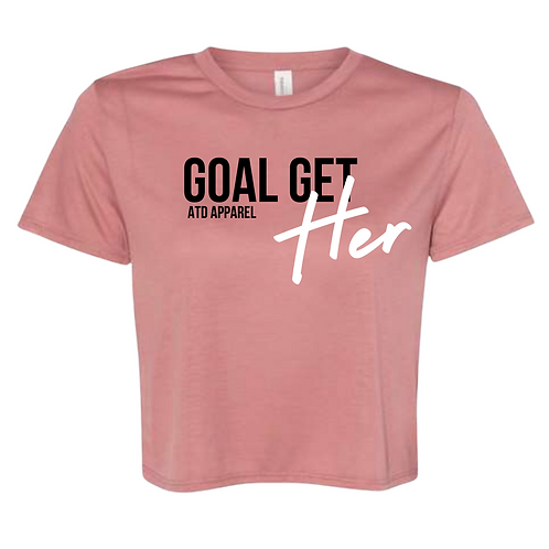 Goal Get-Her Cropped Tees Spring Collection