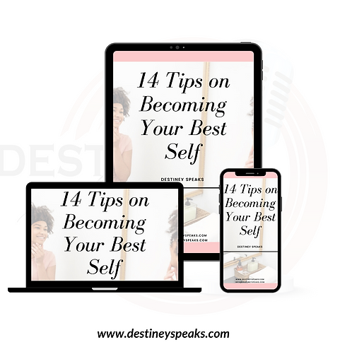 14 Tips On Becoming Your Best Self (E-Book Download)