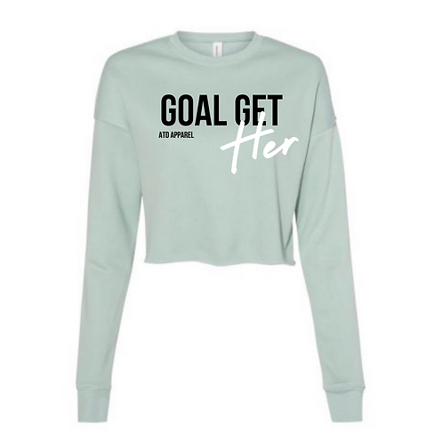 Goal GetHER-Cropped Sweater Collection