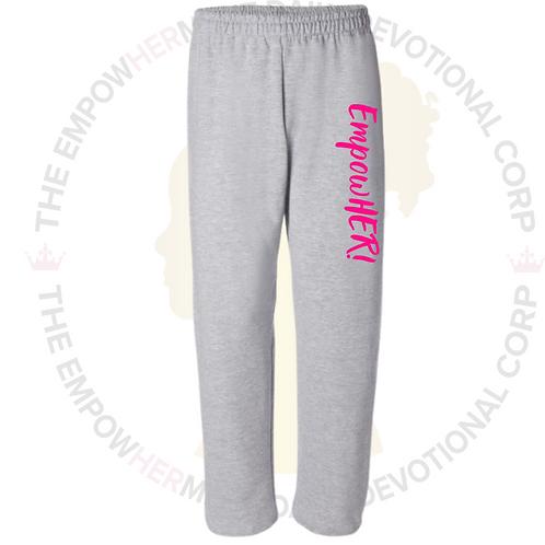 EmpowHER Sweatpants (Gray)