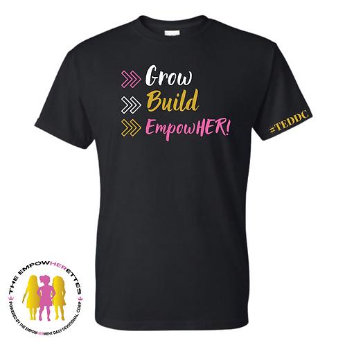 YOUTH-EmpowHERettes Membership Shirt (Black)