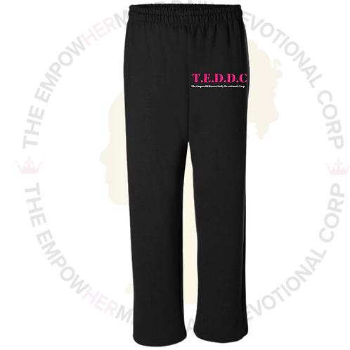 T.E.D.D.C Black Sweat Pants
