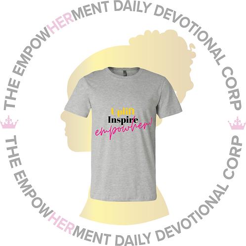 TEDDC Membership Shirt (Gray)