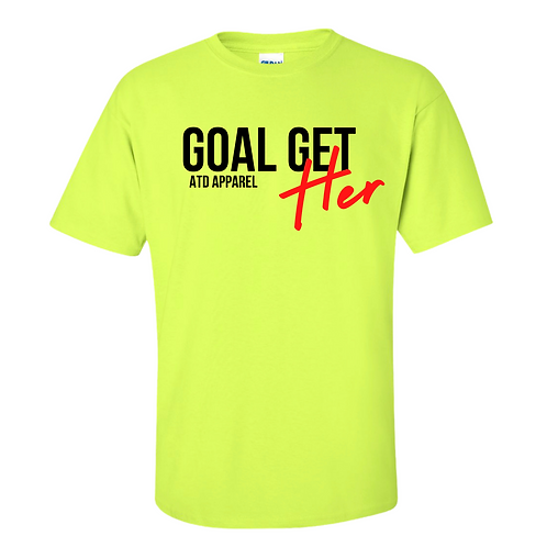 Goal Get-HER Tee Spring Collection