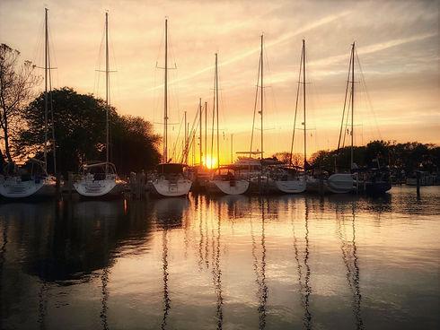 GLYC Outer Harbor Sunset