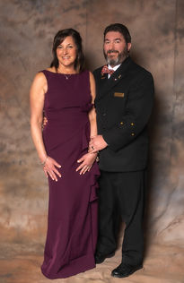 Commodore Rick Ripard and Lady Kim