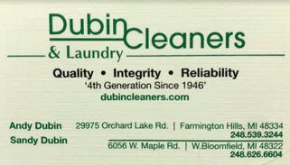Dubin Cleaners