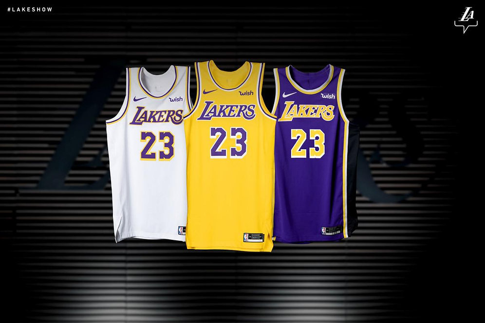 timeless design a45f3 9d260 Lakers Lebron James Jersey